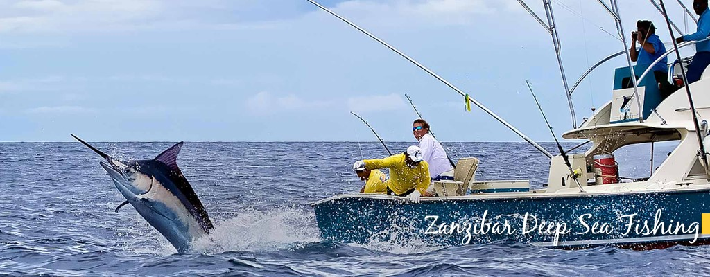 Deep Sea Fishing - Zanzibar